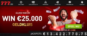 Online casino's Belgie